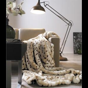 Luxusné kožušinová deka
